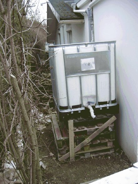 Reserve d 39 eau jardin solidaire - Systeme recuperateur d eau ...